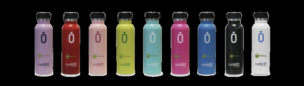 Botellas termo cerámico Runbott